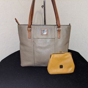 Dooney Bourke Lexington Tote Handbag w/BONUS